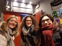 Au Pairs at the cinema