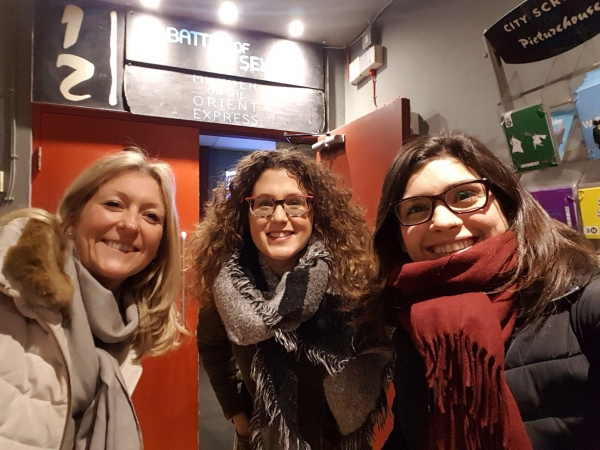 Au Pairs at the cinema