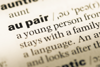 Au pair dictionary definition